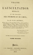 Laennec Text 1826